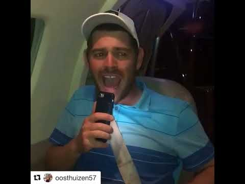 This is hilarious Louis Oosthuizen Repost uuu Just finished my career grand