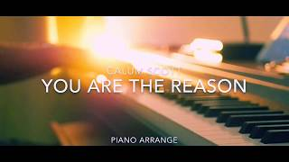 You Are The Reason / Calum Scott  Piano Cover
