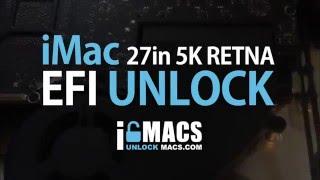 EFI & iCloud Password Removal for iMac - Model A1419 EMC2806