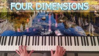 Four Dimensions - Synthesia - Ludovico Einaudi