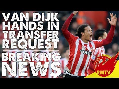 Virgil Van Dijk Hands In Transfer Request!   #LFC Breaking News