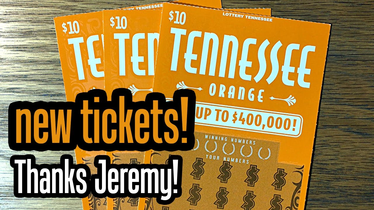 New Tickets! 3X $10 Tennessee Orange - Tennessee Lottery Scratch Offs