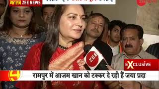 Breaking News: Jayaprada files nomination from Rampur