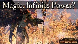Arcane Conduit For Infinite Power? Total War Warhammer Magic Mechanics