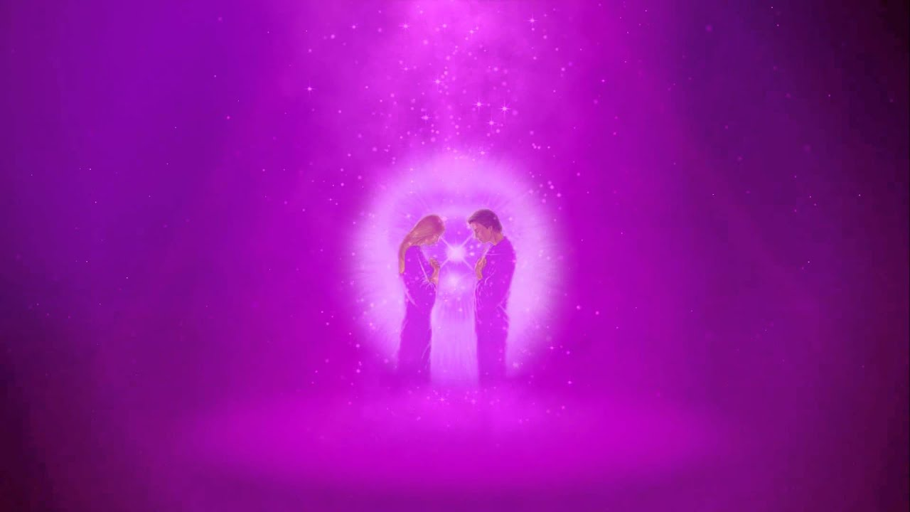 Twin Flames Violet Flame Meditation - YouTube