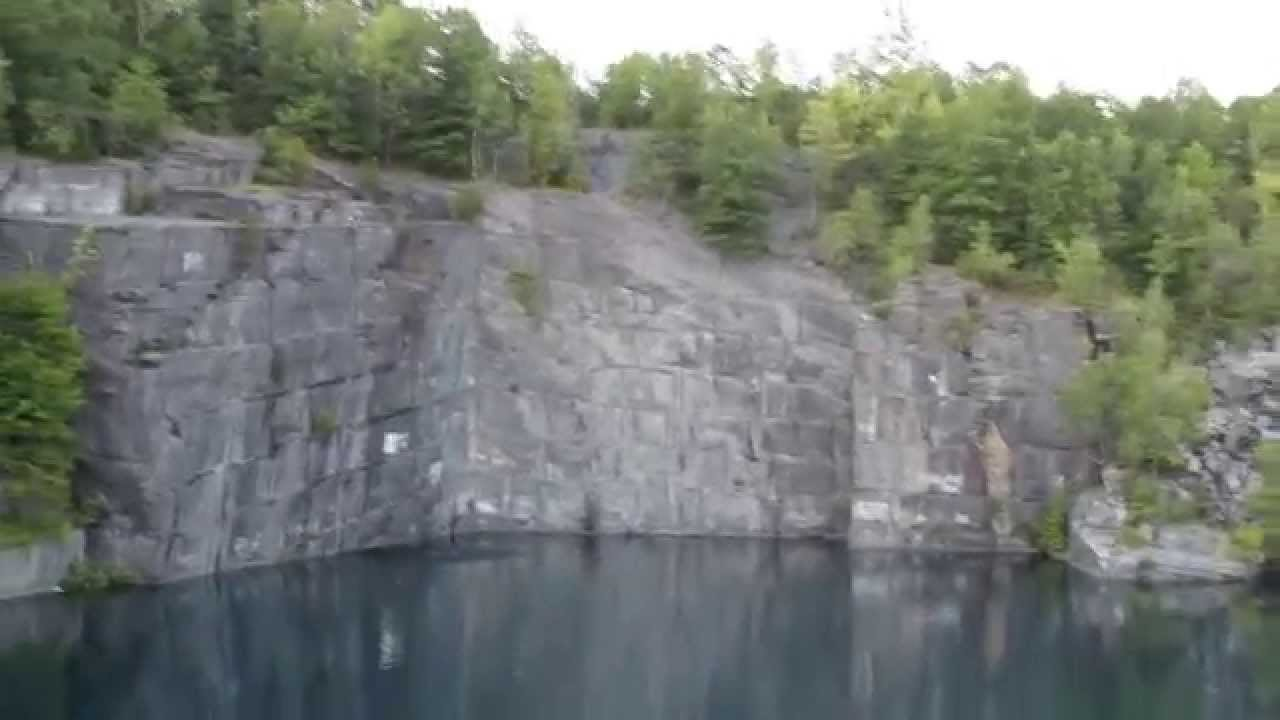 Cliff Jumping - Bangor Quarry - Huge 100ft Cliff - Jumps on fire by  Adventure Junkies