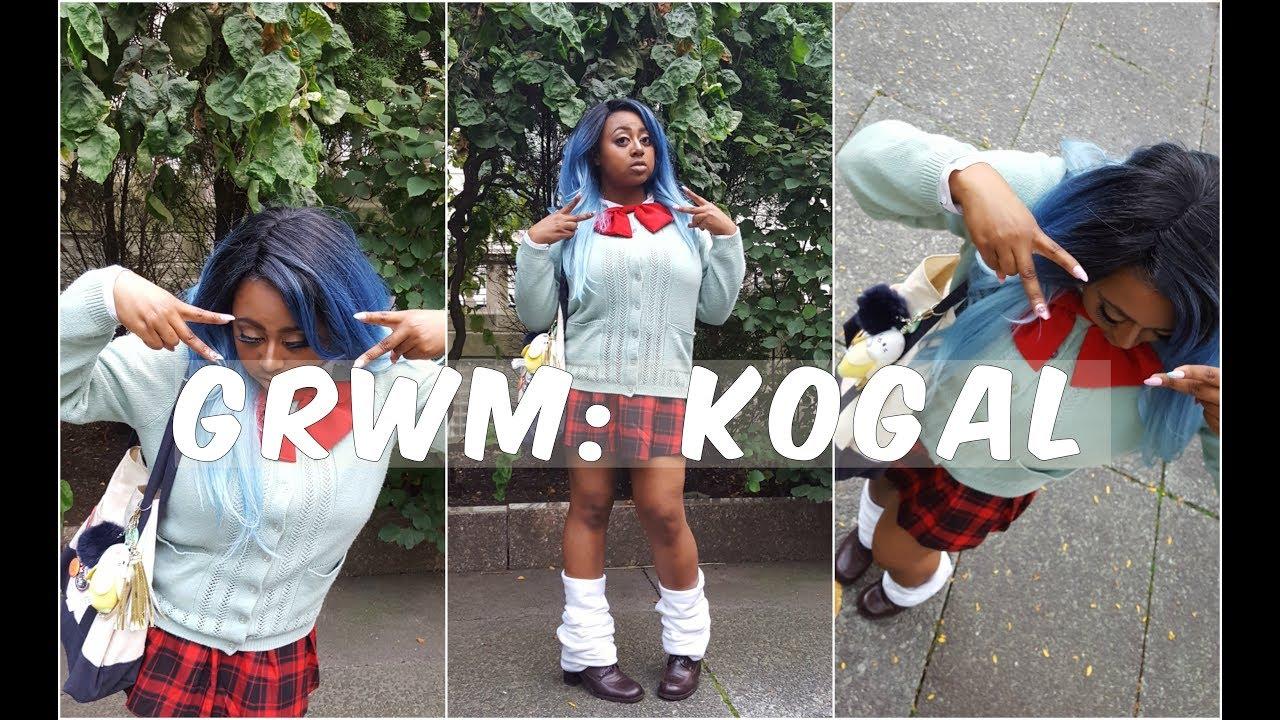 Oddish Fashion GRWM: Kogyaru Edition