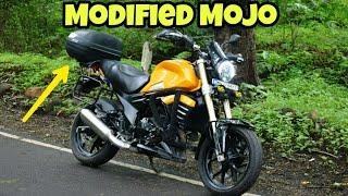 Download Lagu Modified Mahindra Mojo into Adventure Tourer By Suraj Agnepat mp3