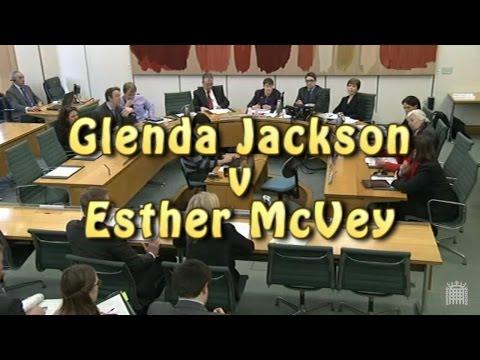 Glenda Jackson v Esther McVey [subtitled]