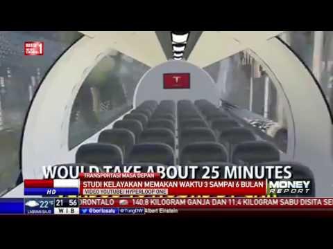 Transportasi Masa Depan Hyperloop, Jakarta-Yogya Hanya 25 Menit