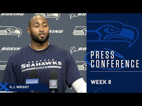 Seahawks Linebacker K.J. Wright Week 8 Press Conference