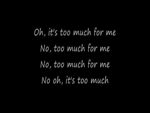 Claude Kelly - Too Much (lyrics