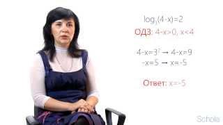 Математика. Методы решения логарифмических уравнений (1-2)