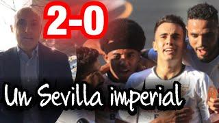 2-0 GRAN SEVILLA, ROMA SIN RESPUESTA #MundoMaldini