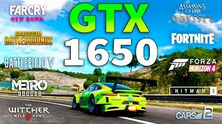 GeForce GTX 1650 Test in 10 Games