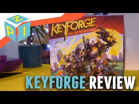 KeyForge Review - My Favourite Collectible Card Game
