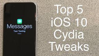 Top 5 iOS 10 - 10.2 Cydia Tweaks - October 2017