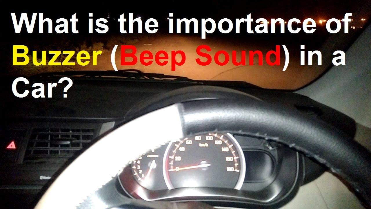 Car Beeping Sound