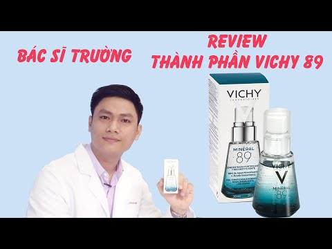 REVIEW - phân tích THÀNH PHẦN Vichy Mineral 89 | Bác sĩ Trần Thanh Trường