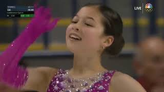 Alysa Liu Чемпионат США U S Championships 2020 Короткая программа SP