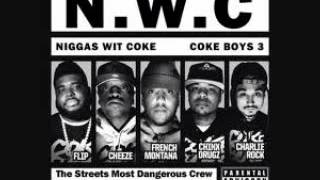 French Montana- 9000 Watts ft Coke Boys INSTRUMENTAL (Coke Boys 3)