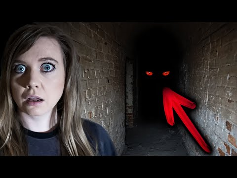 Red Eyes In Haunted UNDERGROUND Cell | Hobart Convict Penitentiary Ghosts!