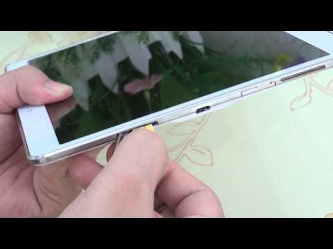 Hướng dẫn lắp Sim và Thẻ nhớ Samsung Galaxy Tab S 10.5   www.thegioididong.com