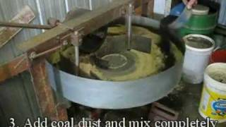 How to make cast iron molding sand