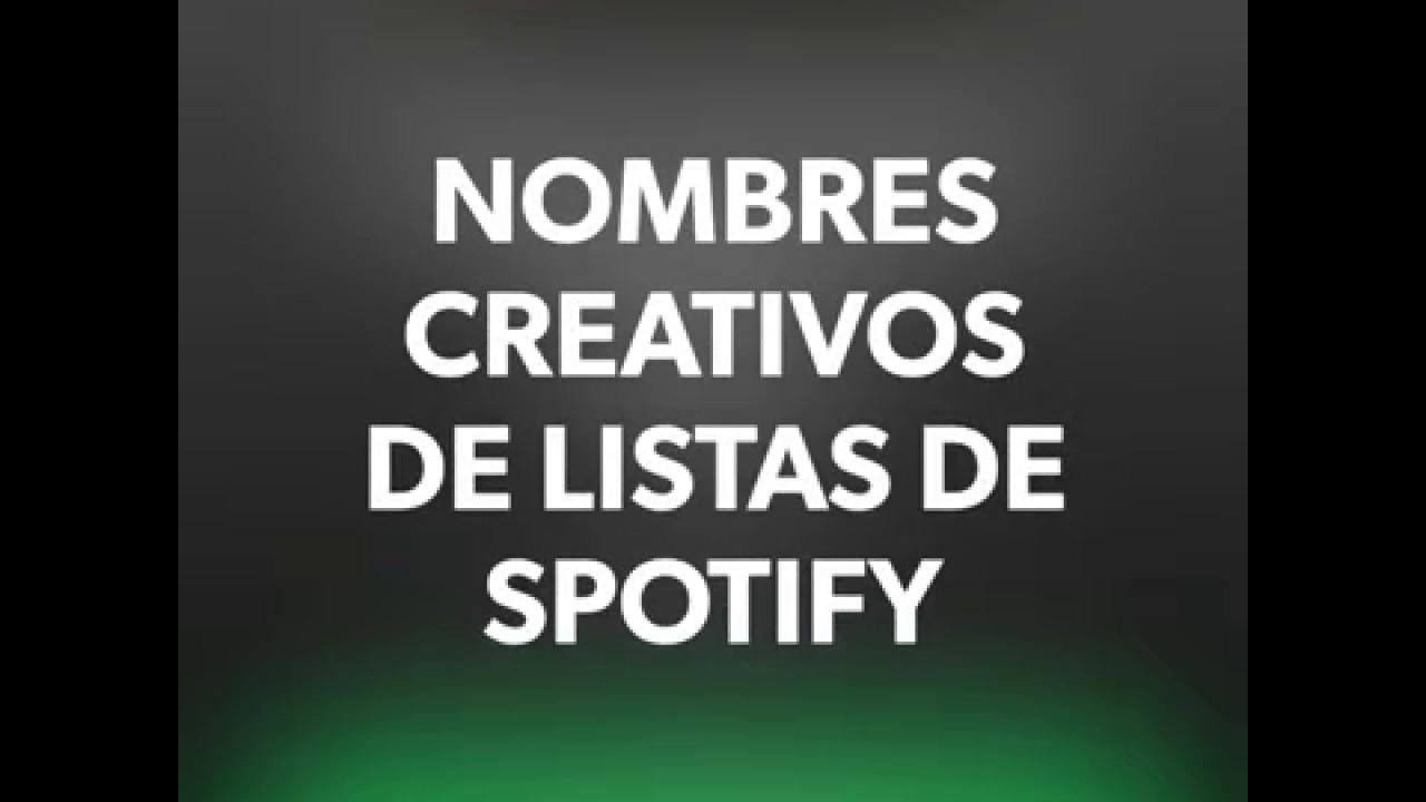 Los Mejores Títulos Para Playlist O Listas De Spotify