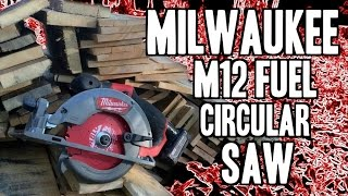 "Milwaukee M12 FUEL 5-3/8"" Circular Saw 2530-20 / 2530-21XC"