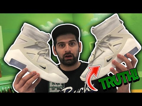THE TRUTH ABOUT THE NIKE AIR FEAR OF GOD SNEAKER...