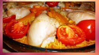🍴🐔 Запеченный рис в духовке по турецки