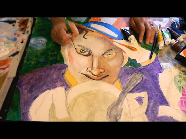 Mad Hatter Video Mark Muirs Through The Looking Glass Art Crawl