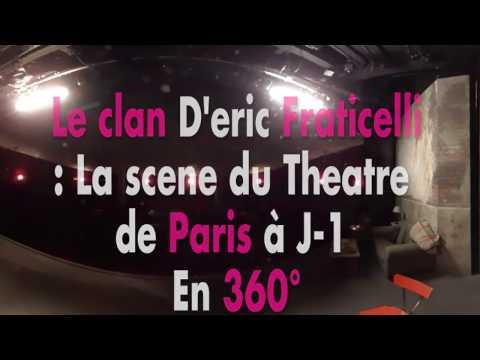 Le clan : Immersion en 360° sur la scène du théâtre de Paris