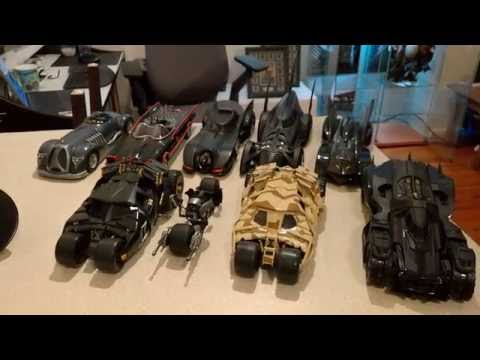 Complete 1:18 Scale Diecast Batmobile Collection - Hot Wheels - Corgi - Batman - Hot Toys - Enterbay