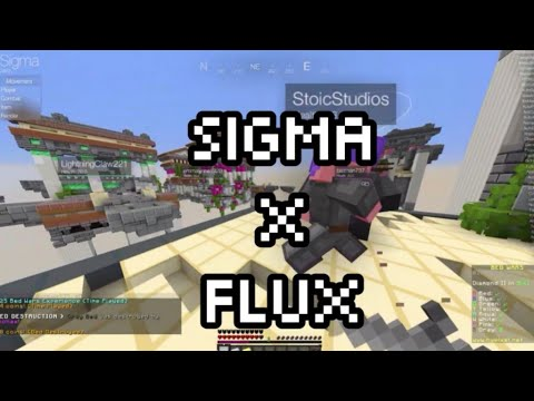 hacking in hypixel bedwars w/Jello for Sigma | Best hypixel hacked client ever (ft. Flux user)