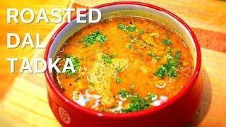 Roasted Dal Tadka  No Onion Garlic Curry  Yellow Roasted Dal Tadka