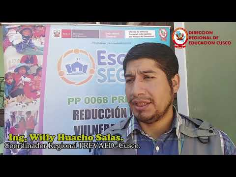TERCER SIMULACRO NACIONAL ESCOLAR 2019