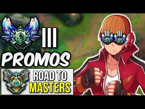 PROMOS TO DIAMOND 3 | Road to Masters #4 - League of Legends