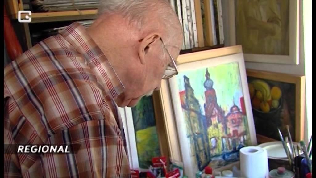 Lichtenhagen Dorf Kunstler Feliks Buttner Wird 80 Jahre Nnn De