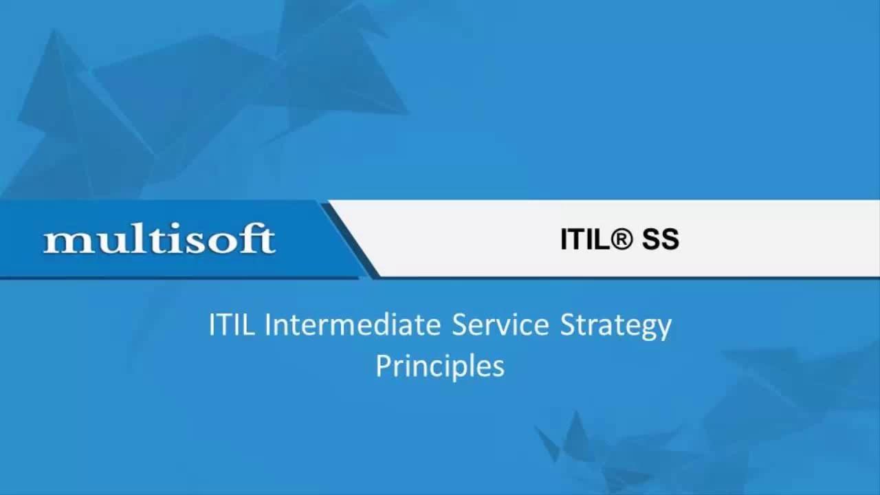 itil intermediate service strategy pdf