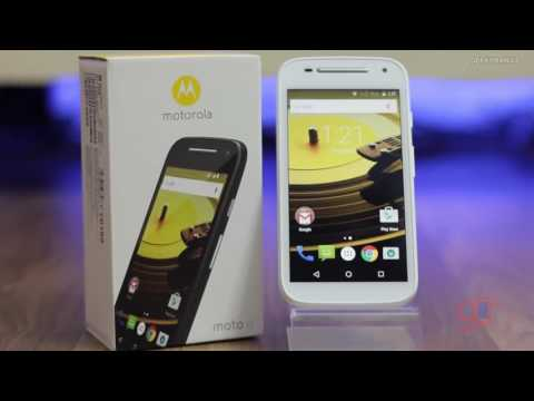 Moto E 2nd Gen 2015 Model Unboxing & Hands On Overview