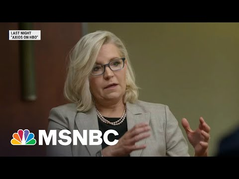 Rep. Cheney A Fringe Figure In The GOP, Says Axios Reporter | MSNBC