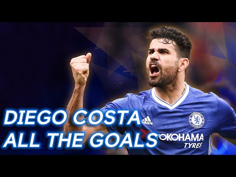 Every goal from Diego Costa Chelsea    Top scorers