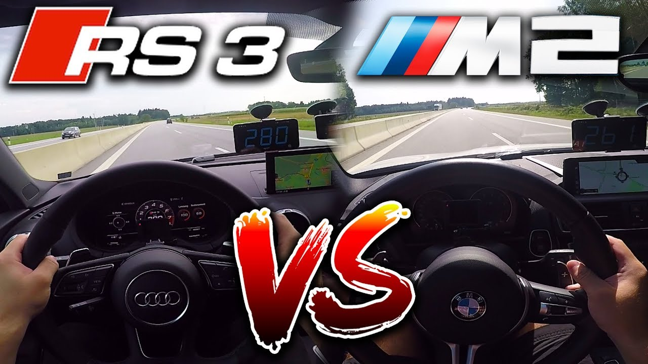 Bmw m2 vs audi rs3 - BMW M2 Forum
