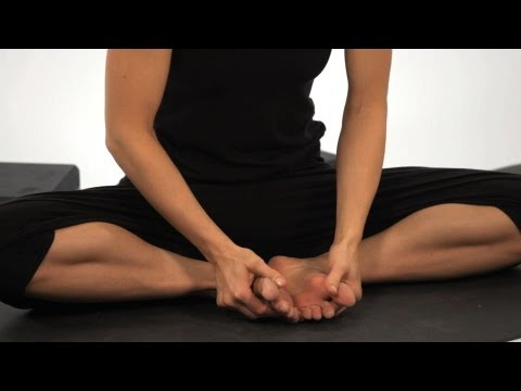 How to Do a Cobbler's Pose | Yoga