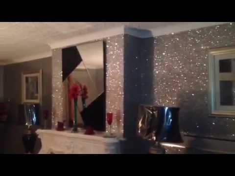 Glam Silver Glitter Wallpaper Youtube