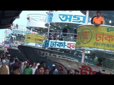 Big Top 10 Ship Launch Dhaka Bangladesh একসাথে ১০ টি লঞ্চের ভিডিও HD Video 130