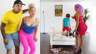 spying on our babysitter you wont believe what she did