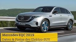 Mercedes EQC 2019: Daten, Details & Preise des Elektro-SUV | ADAC